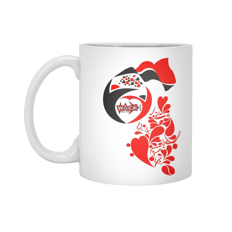 WACK Logo & Hearts no text Accessories Mug by WACK 90.1fm Merchandise Store