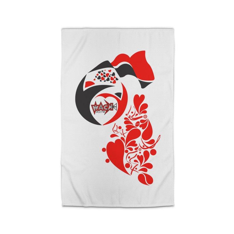 WACK Logo & Hearts no text Home Rug by WACK 90.1fm Merchandise Store
