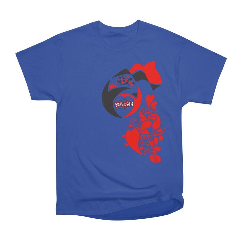 WACK Logo & Hearts no text Women's Heavyweight Unisex T-Shirt by WACK 90.1fm Merchandise Store