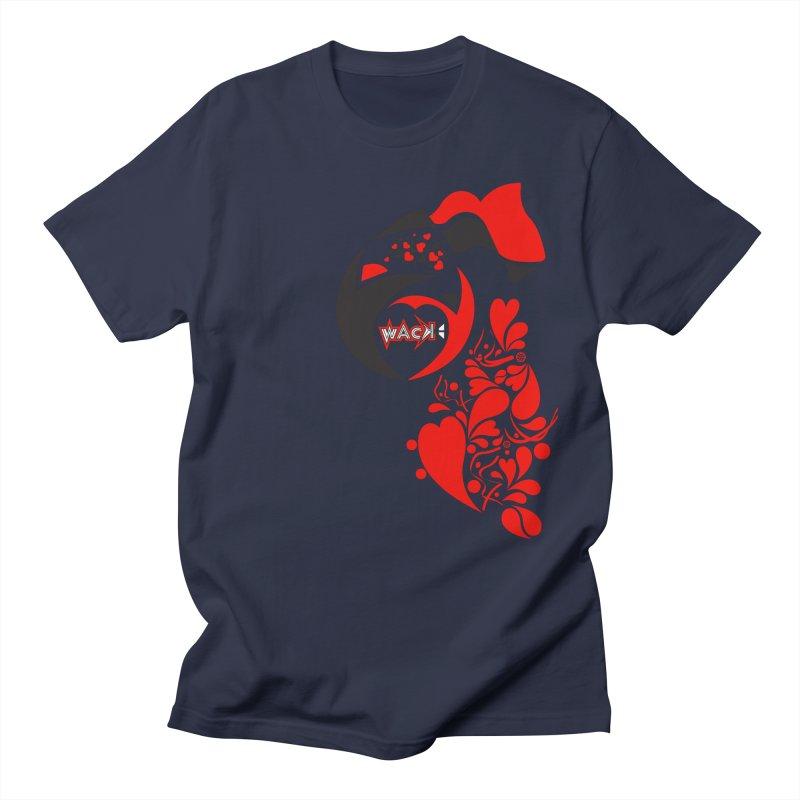 WACK Logo & Hearts no text Men's Regular T-Shirt by WACK 90.1fm Merchandise Store