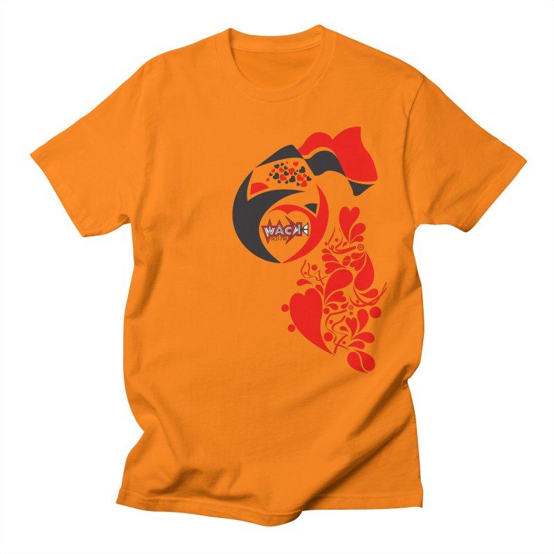 WACK Logo & Hearts no text Men's T-Shirt by WACK 90.1fm Merchandise Store