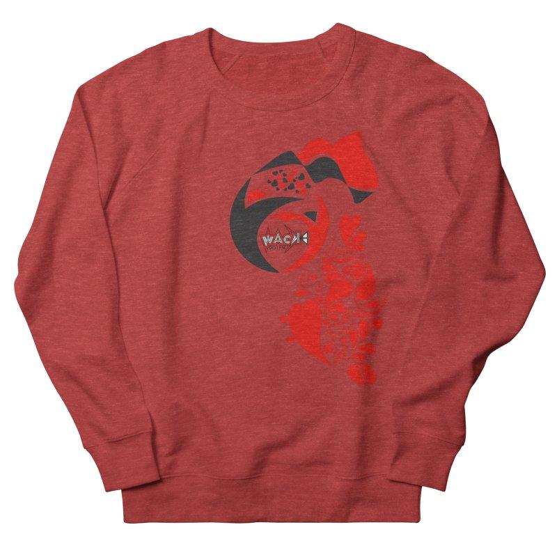 WACK Logo & Hearts no text Men's Sweatshirt by WACK 90.1fm Merchandise Store