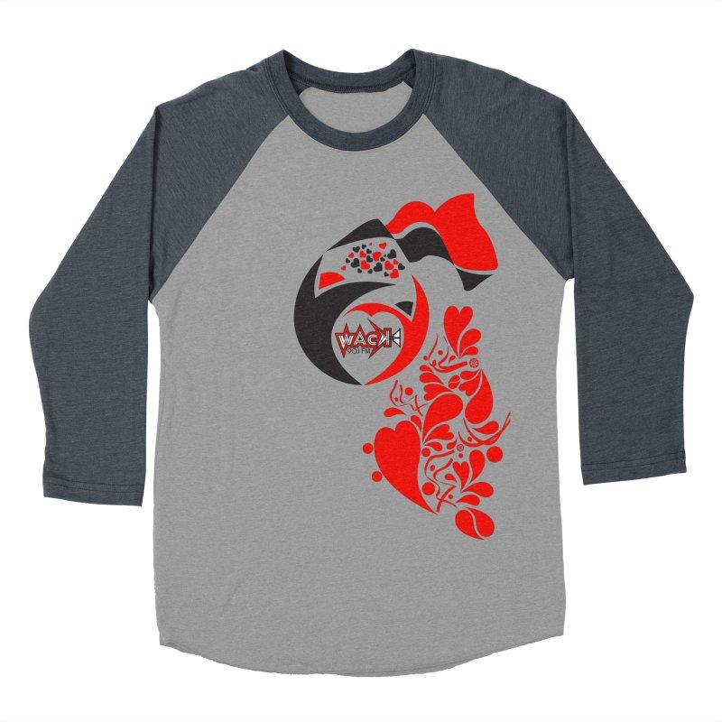 WACK Logo & Hearts no text Women's Longsleeve T-Shirt by WACK 90.1fm Merchandise Store