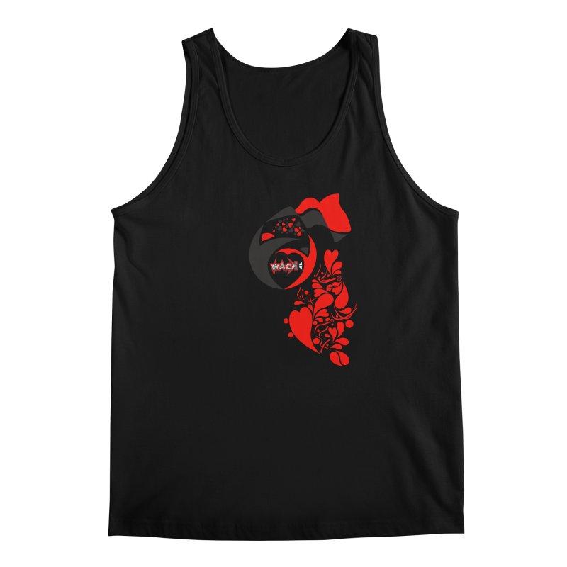 WACK Logo & Hearts no text Men's Regular Tank by WACK 90.1fm Merchandise Store