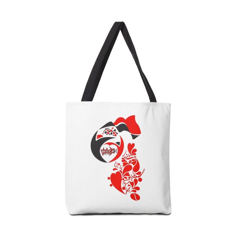 WACK Logo & Hearts no text Accessories Bag by WACK 90.1fm Merchandise Store
