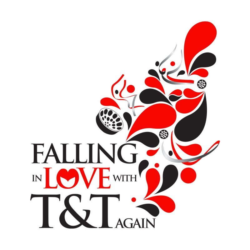 Falling in Love Main logo Women's Scoop Neck by WACK 90.1fm Merchandise Store
