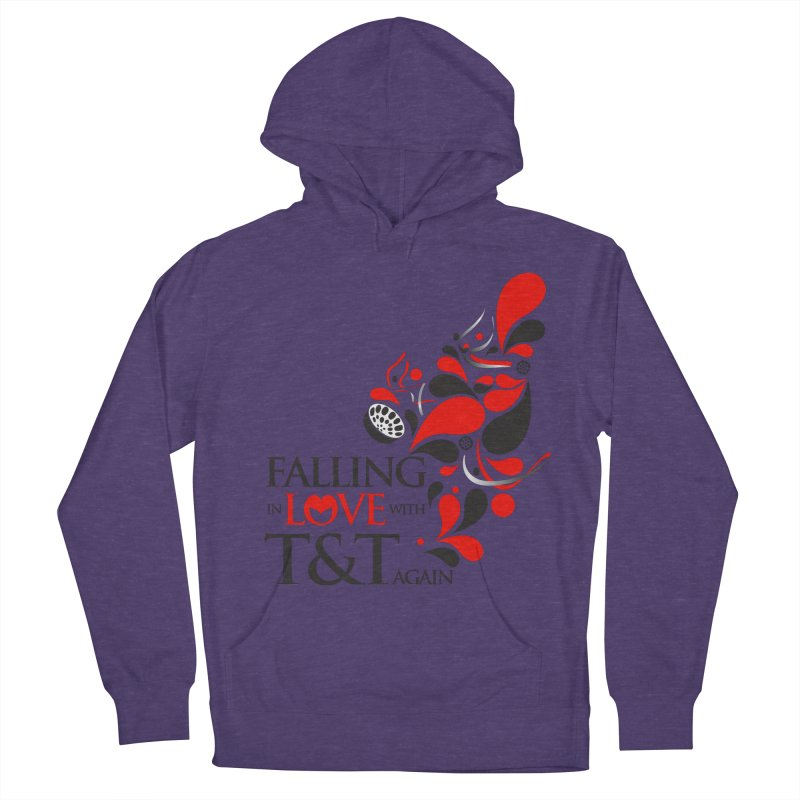 Falling in Love Main logo Women's Pullover Hoody by WACK 90.1fm Merchandise Store