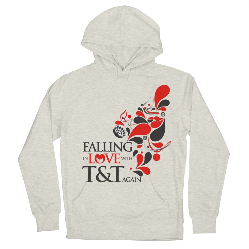 Falling in Love Main logo Women's French Terry Pullover Hoody by WACK 90.1fm Merchandise Store
