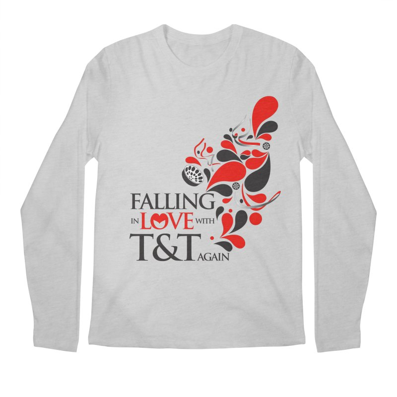 Falling in Love Main logo Men's Regular Longsleeve T-Shirt by WACK 90.1fm Merchandise Store