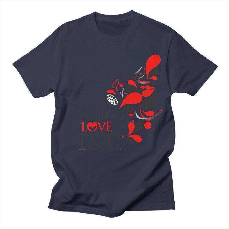 Falling in Love Main logo Women's Regular Unisex T-Shirt by WACK 90.1fm Merchandise Store