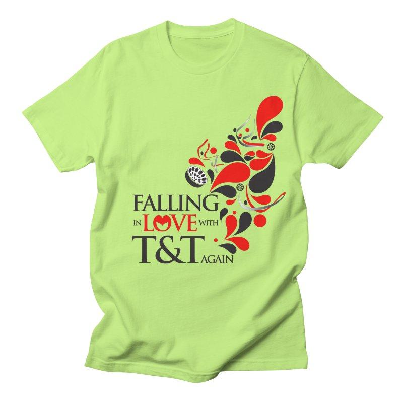 Falling in Love Main logo Men's Regular T-Shirt by WACK 90.1fm Merchandise Store
