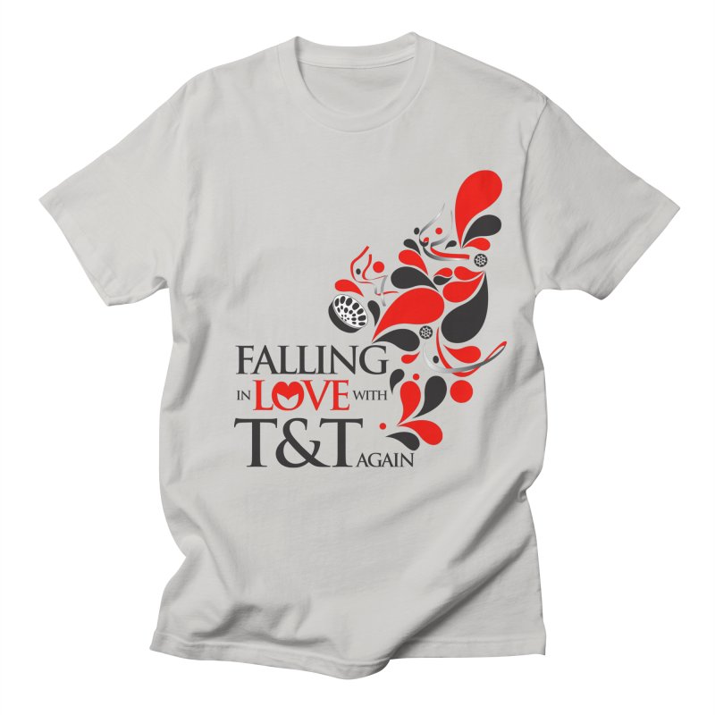 Falling in Love Main logo Men's Regular T-Shirt by WACK 90.1fm Merchandise Store