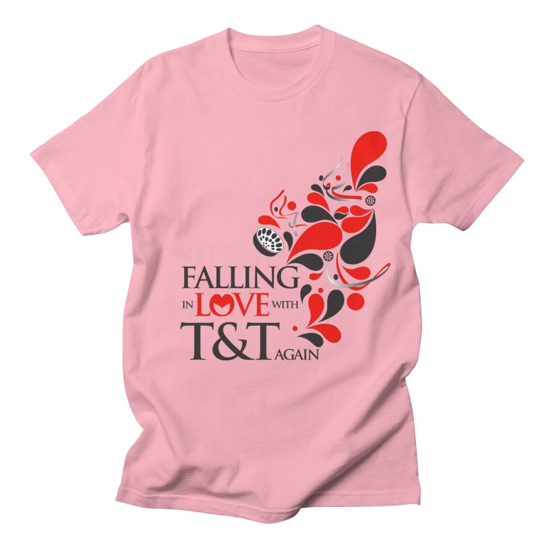 Falling in Love Main logo Women's Regular Unisex T-Shirt by WACK 90.1fm Merchandise Store