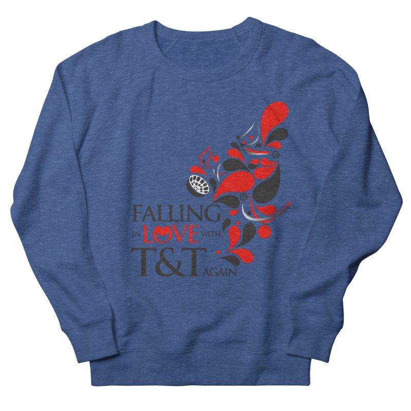 Falling in Love Main logo Men's Sweatshirt by WACK 90.1fm Merchandise Store