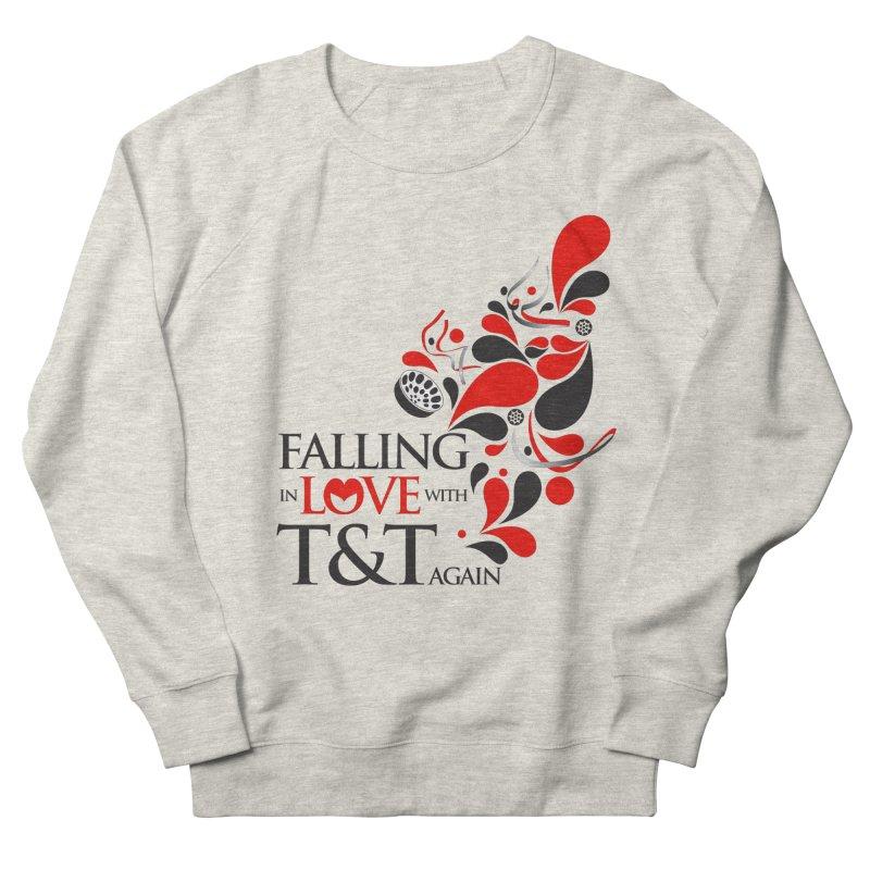 Falling in Love Main logo Men's French Terry Sweatshirt by WACK 90.1fm Merchandise Store