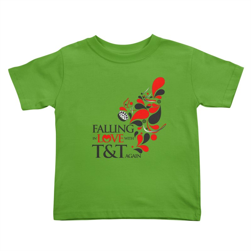 Falling in Love Main logo Kids Toddler T-Shirt by WACK 90.1fm Merchandise Store