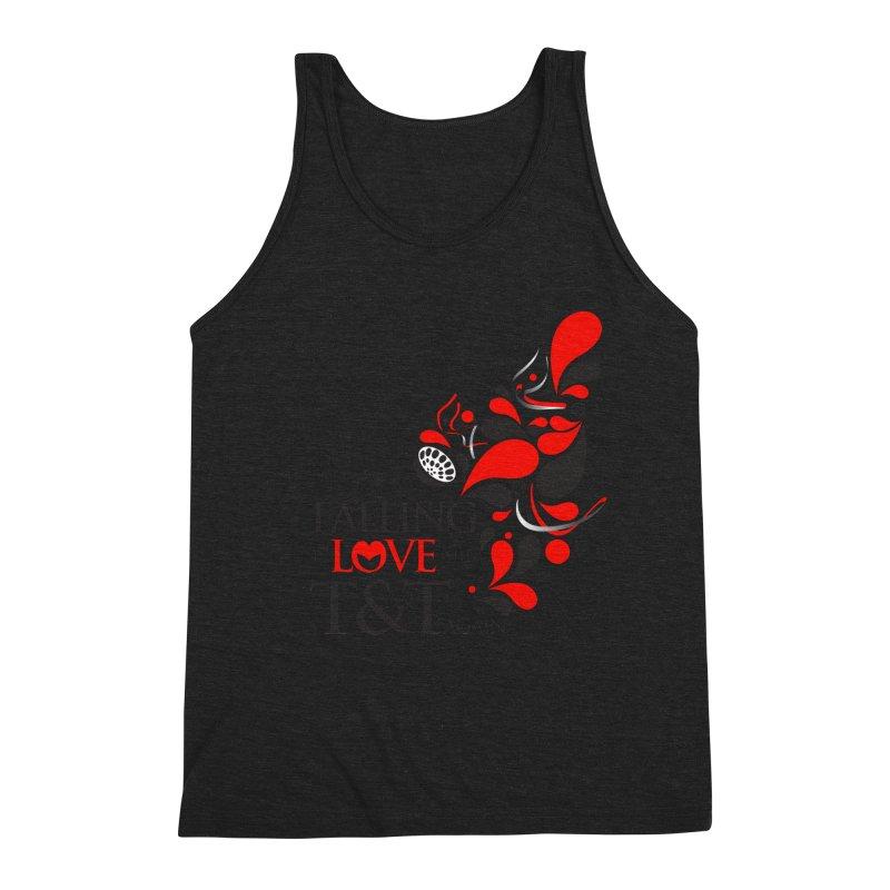 Falling in Love Main logo Men's Tank by WACK 90.1fm Merchandise Store
