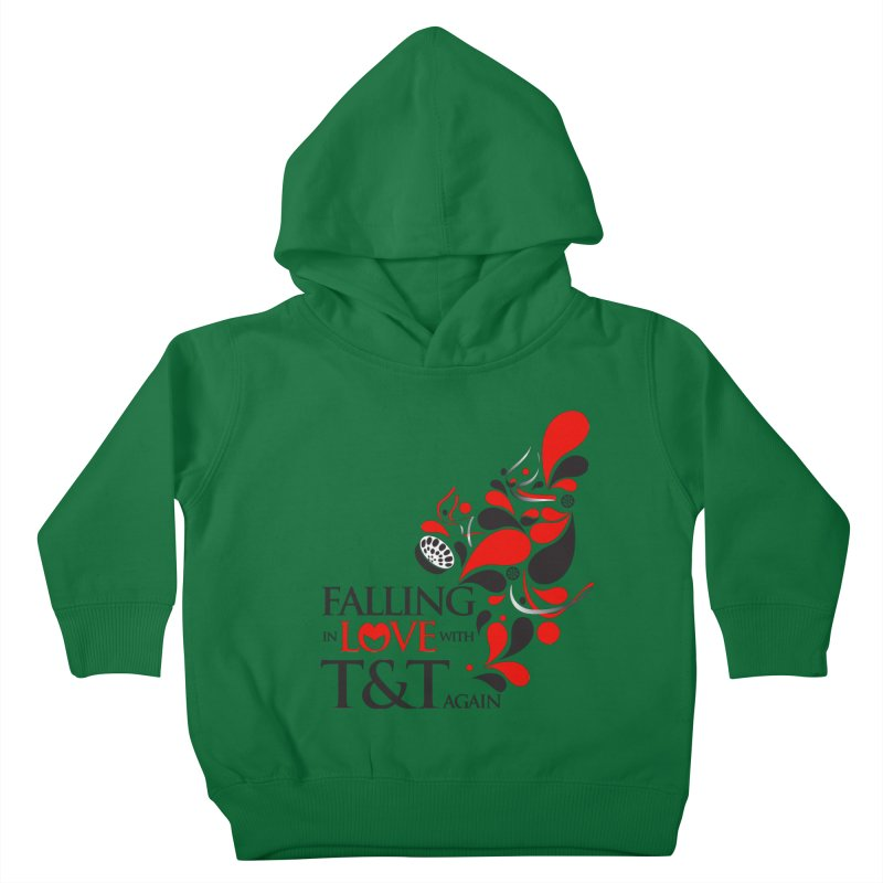 Falling in Love Main logo Kids Toddler Pullover Hoody by WACK 90.1fm Merchandise Store