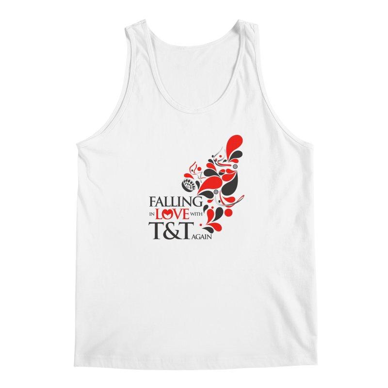 Falling in Love Main logo Men's Regular Tank by WACK 90.1fm Merchandise Store