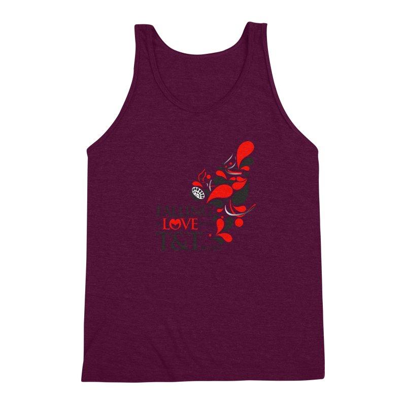Falling in Love Main logo Men's Triblend Tank by WACK 90.1fm Merchandise Store