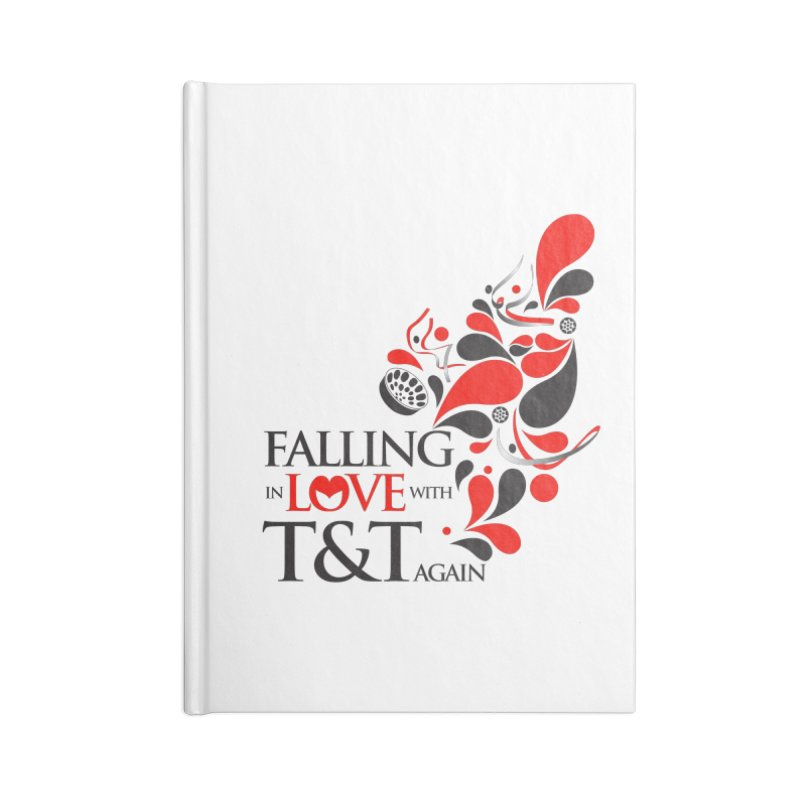 Falling in Love Main logo Accessories Notebook by WACK 90.1fm Merchandise Store
