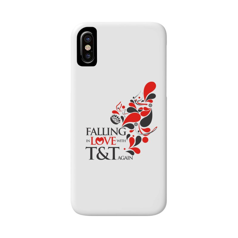 Falling in Love Main logo Accessories Phone Case by WACK 90.1fm Merchandise Store