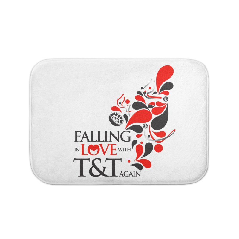 Falling in Love Main logo Home Bath Mat by WACK 90.1fm Merchandise Store