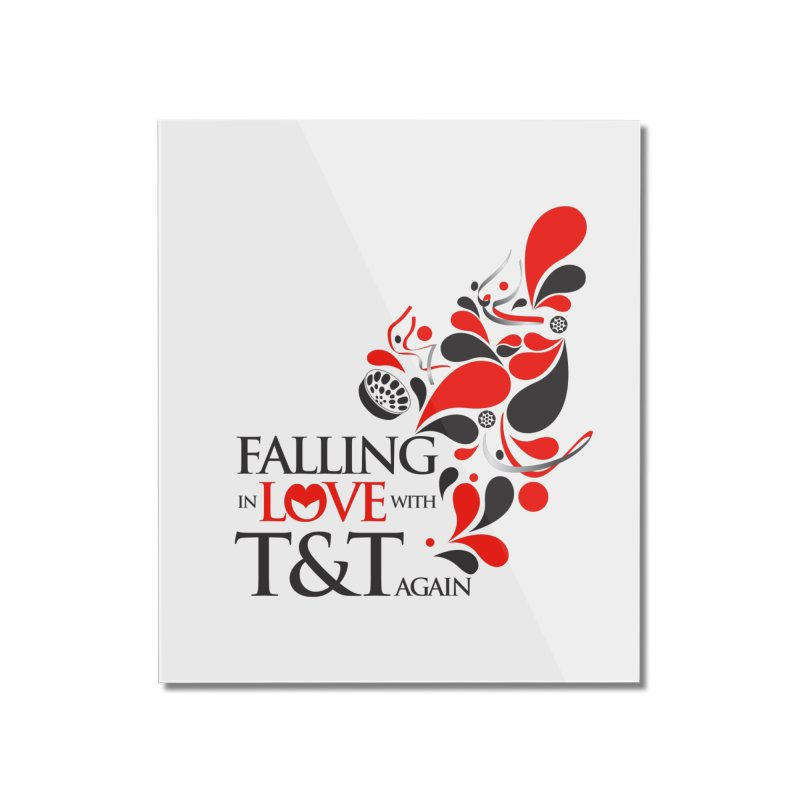 Falling in Love Main logo Home Mounted Acrylic Print by WACK 90.1fm Merchandise Store