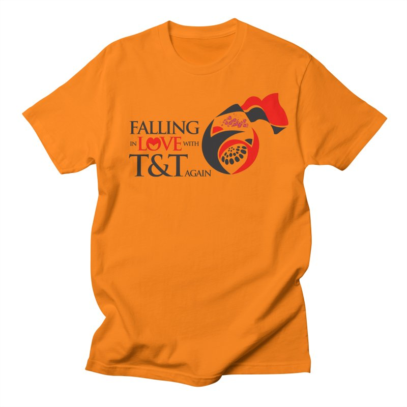 Falling in Love with TT - Round logo with hearts Women's Regular Unisex T-Shirt by WACK 90.1fm Merchandise Store
