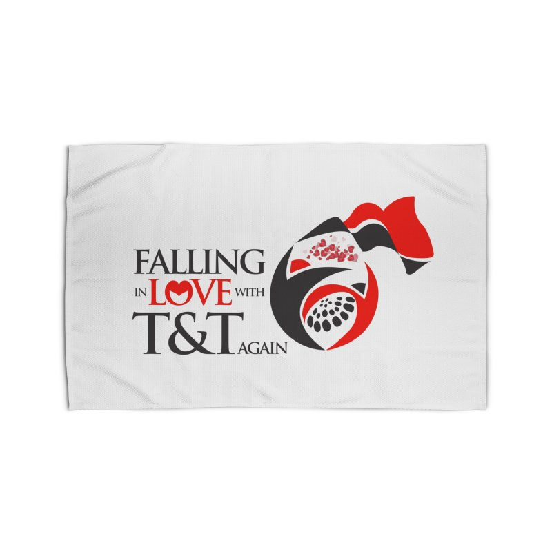 Falling in Love with TT - Round logo with hearts Home Rug by WACK 90.1fm Merchandise Store