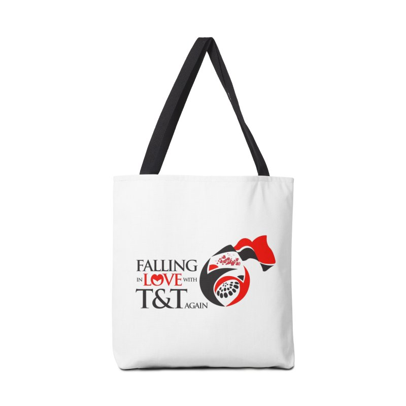 Falling in Love with TT - Round logo with hearts Accessories Bag by WACK 90.1fm Merchandise Store