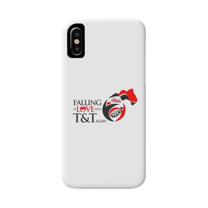 Falling in Love with TT - Round logo with hearts Accessories Phone Case by WACK 90.1fm Merchandise Store