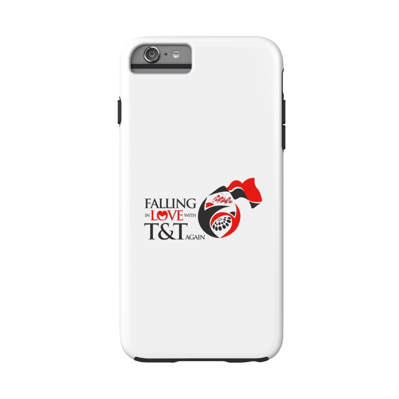 Falling in Love with TT - Round logo with hearts in iPhone 6 Plus / 6S Plus Phone Case Tough by WACK 90.1fm Merchandise Store