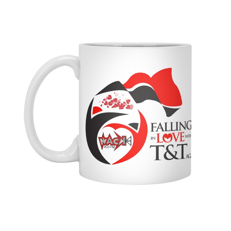 Fallin in Love with T&T Round Logo 2 Accessories Mug by WACK 90.1fm Merchandise Store