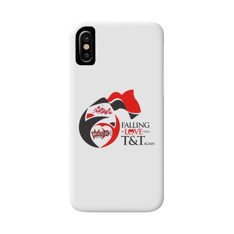 Fallin in Love with T&T Round Logo 2 Accessories Phone Case by WACK 90.1fm Merchandise Store