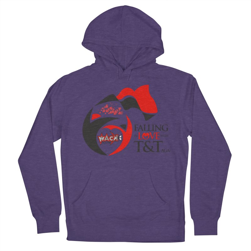 Fallin in Love with T&T Round Logo 2 Women's Pullover Hoody by WACK 90.1fm Merchandise Store