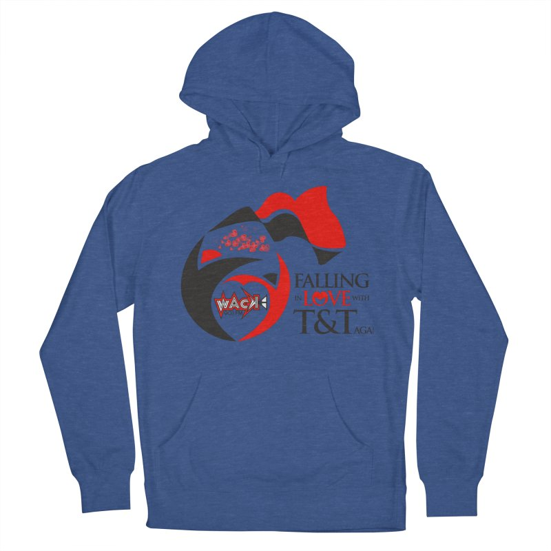 Fallin in Love with T&T Round Logo 2 Men's French Terry Pullover Hoody by WACK 90.1fm Merchandise Store