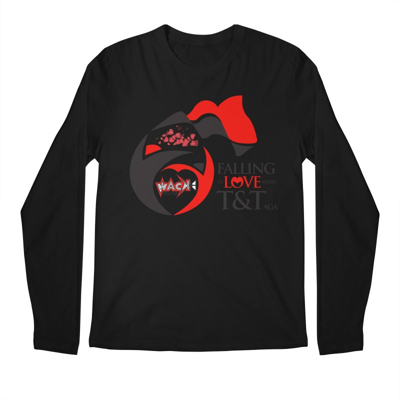 Fallin in Love with T&T Round Logo 2 Men's Regular Longsleeve T-Shirt by WACK 90.1fm Merchandise Store