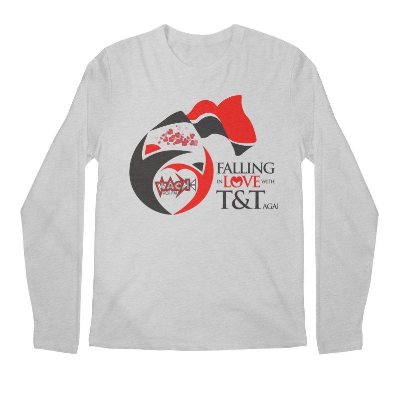 Fallin in Love with T&T Round Logo 2 Men's Regular Longsleeve T-Shirt by WACK 90.1fm Merchandise Store