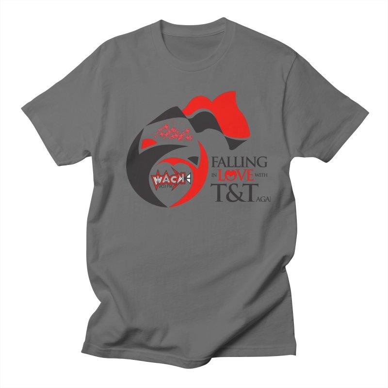 Fallin in Love with T&T Round Logo 2 Men's Regular T-Shirt by WACK 90.1fm Merchandise Store