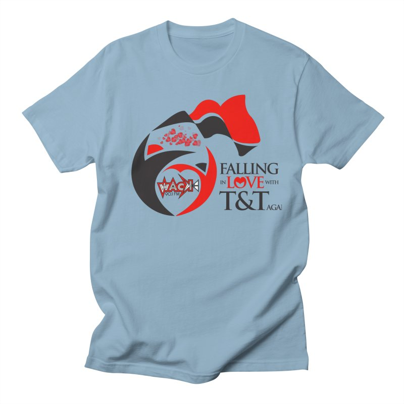 Fallin in Love with T&T Round Logo 2 Women's Unisex T-Shirt by WACK 90.1fm Merchandise Store