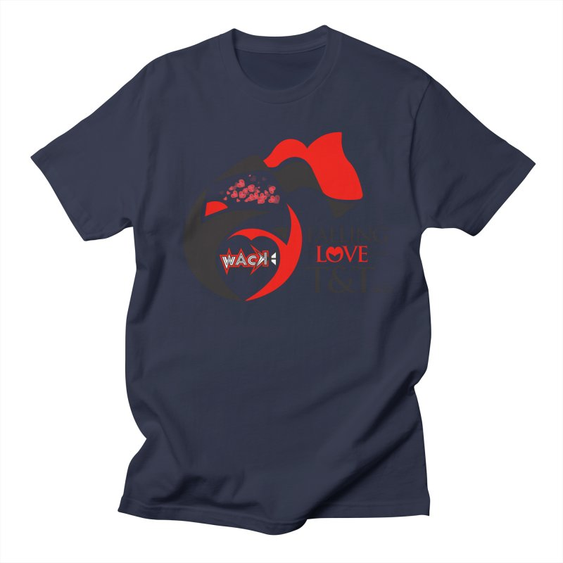 Fallin in Love with T&T Round Logo 2 Men's Regular T-Shirt by WACK 90.1fm Merchandise Store