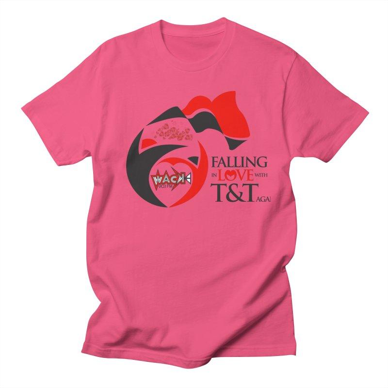 Fallin in Love with T&T Round Logo 2 Women's Regular Unisex T-Shirt by WACK 90.1fm Merchandise Store