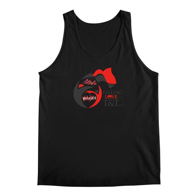 Fallin in Love with T&T Round Logo 2 Men's Regular Tank by WACK 90.1fm Merchandise Store
