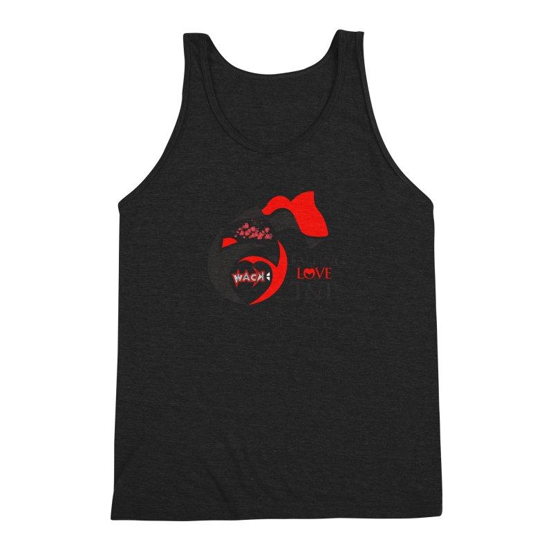 Fallin in Love with T&T Round Logo 2 Men's Triblend Tank by WACK 90.1fm Merchandise Store