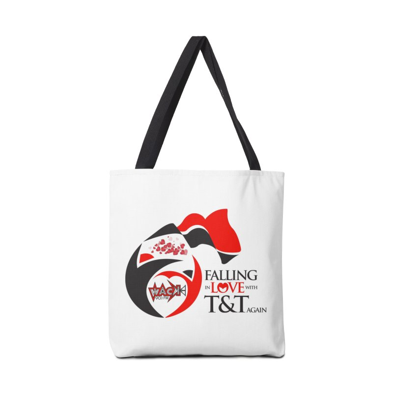 Fallin in Love with T&T Round Logo 2 Accessories Bag by WACK 90.1fm Merchandise Store