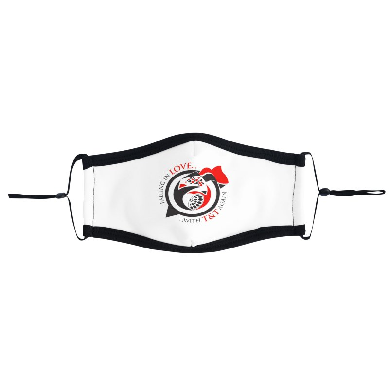 Fallin in Love with TT Round Logo 3 Accessories Face Mask by WACK 90.1fm Merchandise Store