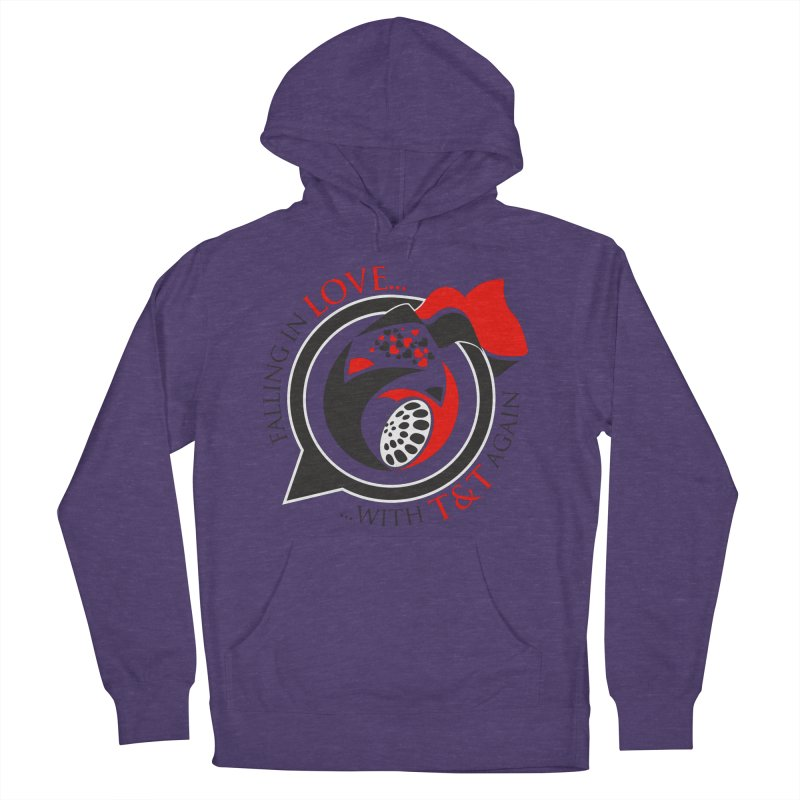 Fallin in Love with TT Round Logo 3 Women's Pullover Hoody by WACK 90.1fm Merchandise Store
