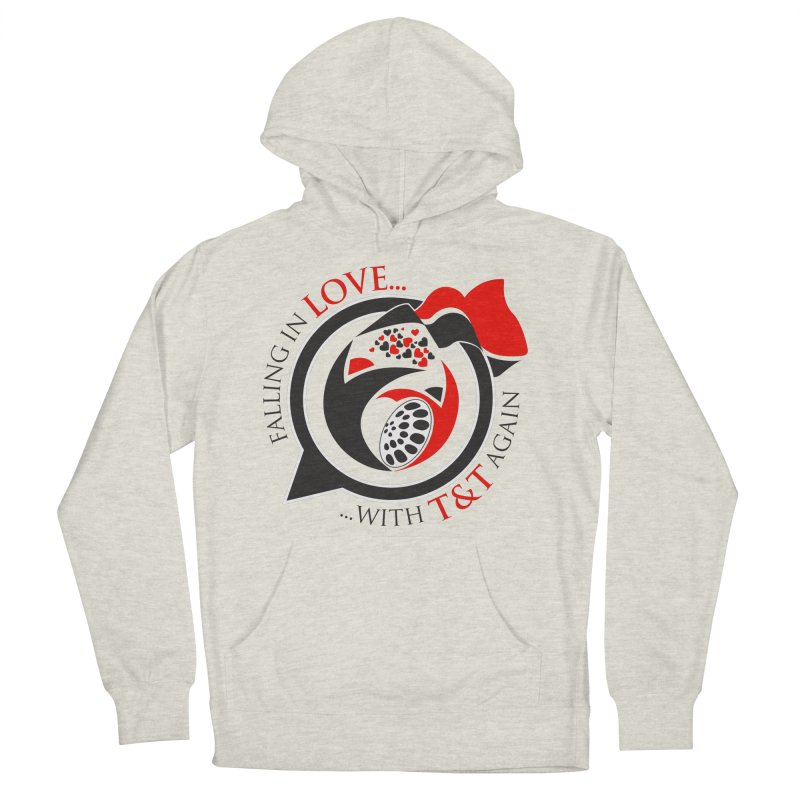 Fallin in Love with TT Round Logo 3 Women's French Terry Pullover Hoody by WACK 90.1fm Merchandise Store