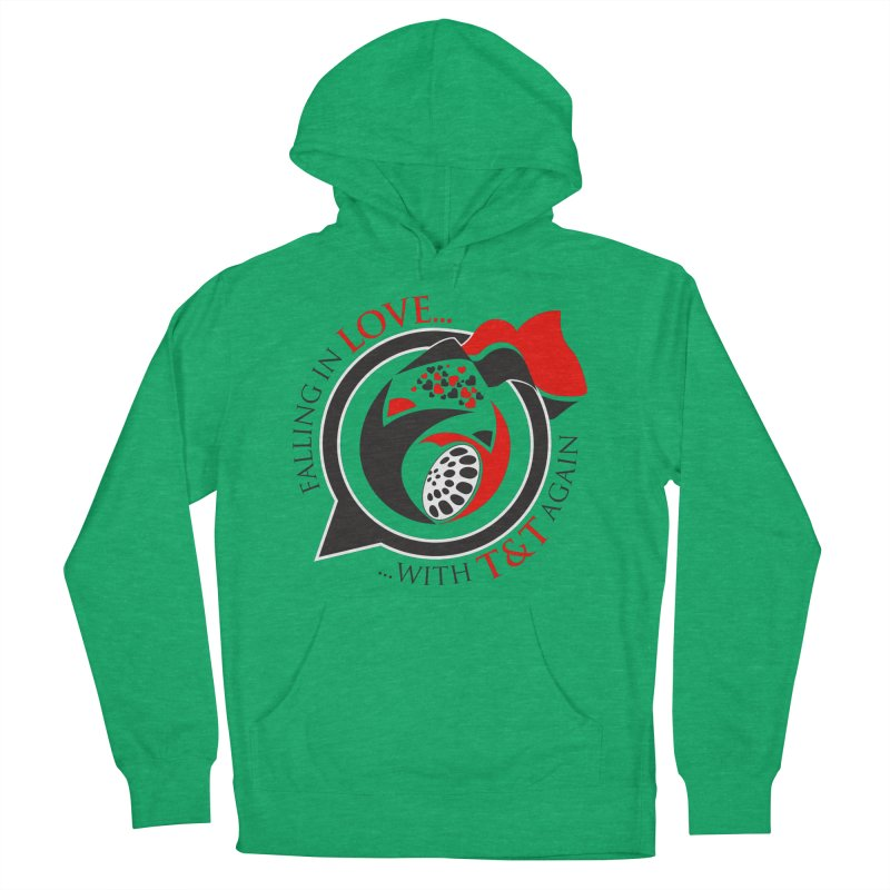 Fallin in Love with TT Round Logo 3 Men's French Terry Pullover Hoody by WACK 90.1fm Merchandise Store